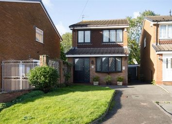 Thumbnail 3 bed detached house for sale in Portchester Drive, Wednesfield, Wolverhampton, West Midlands
