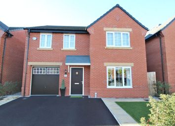 Thumbnail 4 bed detached house for sale in Badens Croft Road, Shavington, Crewe