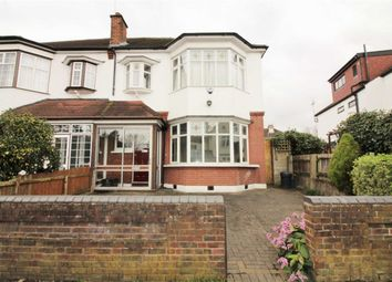 Thumbnail 4 bed semi-detached house for sale in Warren Road, Wanstead, London