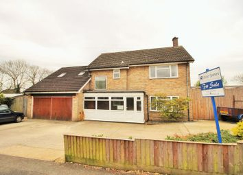 Thumbnail 5 bedroom property for sale in Coneygear Road, Hartford, Huntingdon, Cambridgeshire.