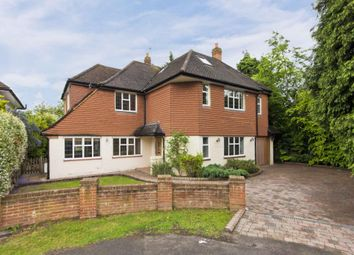 Thumbnail 5 bedroom detached house to rent in Fairlawn Close, Claygate, Esher