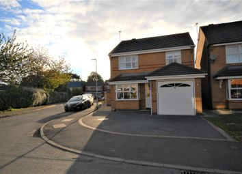 Thumbnail 3 bed detached house for sale in Rushby Road, Coalville