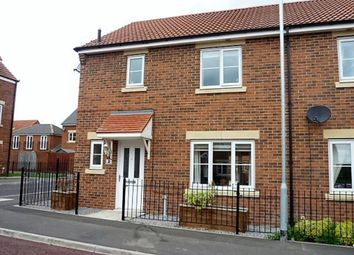 Thumbnail 3 bed end terrace house for sale in Lambley Crescent, Seaton Delaval, Whitley Bay