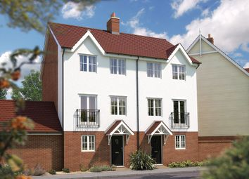 "Thumbnail 3 bed semi-detached house for sale in ""The Winchcombe"" at Fulbeck Avenue, Worthing"