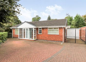 Thumbnail 3 bed detached bungalow for sale in Knights Close, Ashby De La Zouch