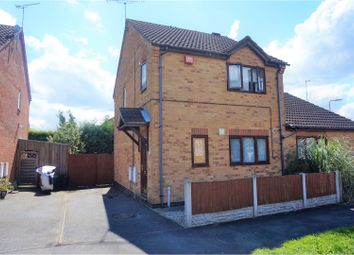 Thumbnail 3 bed semi-detached house for sale in Ervins Lock Road, Wigston