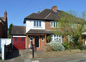 Thumbnail 3 bedroom semi-detached house for sale in Shirley Avenue, Stoneygate, Leicester