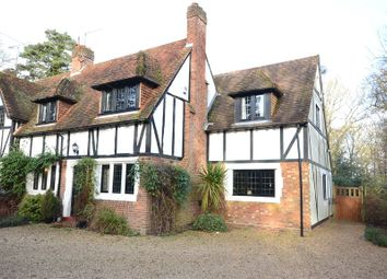 Thumbnail 4 bed semi-detached house for sale in Tudor Cottages, Church Road, Farley Hill