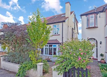 Thumbnail 4 bed semi-detached house for sale in Tankerton Road, Tolworth, Surbiton
