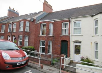 Thumbnail 3 bed terraced house for sale in 8 Heol Dyfed, Fishguard, Pembrokeshire