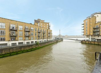 Thumbnail 1 bed flat for sale in Narrow Street, London