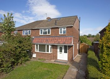 Thumbnail 4 bed semi-detached house for sale in Meadow Road, Henley-In-Arden