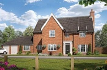 Thumbnail 5 bed detached house for sale in Broomfield Road, Stoke Holy Cross