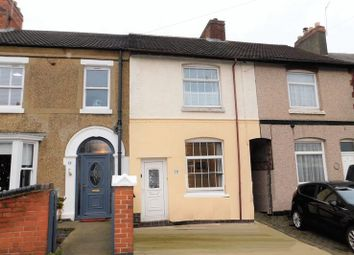 Thumbnail 3 bed terraced house for sale in Manor Road, Donington Le Heath, Coalville