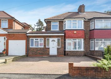 Thumbnail 5 bed semi-detached house for sale in Wetheral Drive, Stanmore, Middlesex