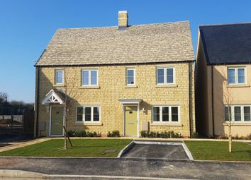 Thumbnail 2 bedroom semi-detached house for sale in Morecombe Way, Fairford