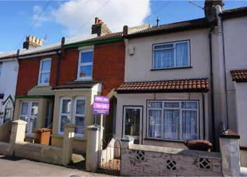 Thumbnail 2 bedroom terraced house for sale in Chaucer Road, Gillingham