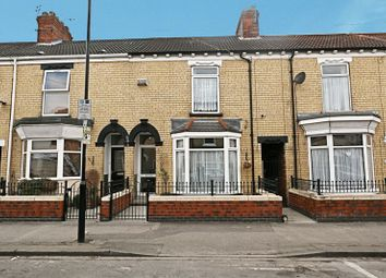 Thumbnail 3 bedroom terraced house for sale in Alliance Avenue, Hull