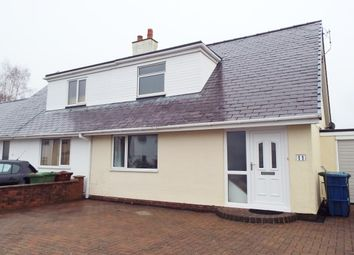 Thumbnail 3 bed property to rent in Bro Emrys, Talybont, Bangor