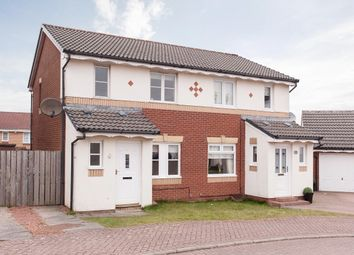 Thumbnail 3 bed semi-detached house for sale in Aitken Close, Newmains, Wishaw, North Lanarkshire
