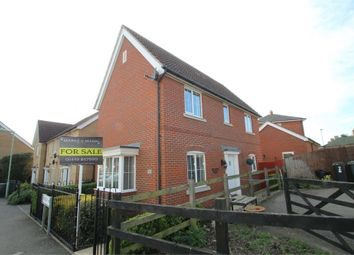 Thumbnail 3 bed detached house for sale in Phoenix Way, Stowmarket, Suffolk