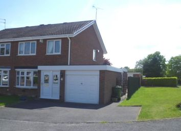 Thumbnail 3 bed semi-detached house to rent in Lowry Close, Perton, Wolverhampton