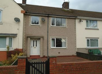 Thumbnail 4 bed terraced house to rent in Choppington Road, Morpeth