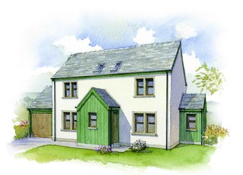 Thumbnail 4 bed detached house for sale in Strone Dhearg, Bridge Of Cally, Blairgowrie