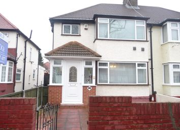 Thumbnail 3 bedroom semi-detached house to rent in Munster Avenue, Hounslow