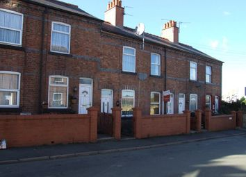 Thumbnail 2 bedroom terraced house to rent in Bury Street, Wrexham