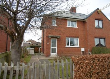 Thumbnail 3 bed semi-detached house for sale in Warkworth Avenue, Warkworth, Morpeth