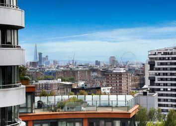 Thumbnail 4 bed flat to rent in Merchant Square East, Paddington