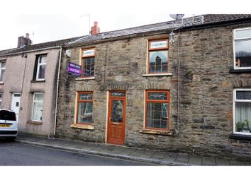 Thumbnail 3 bed terraced house for sale in Morgannwg Street, Pontypridd