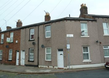 Thumbnail 2 bed terraced house to rent in Hawick Street, Carlisle