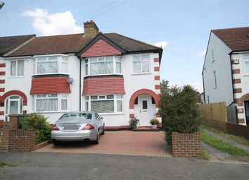 Thumbnail 3 bed end terrace house for sale in Connaught Road, Sutton, Surrey