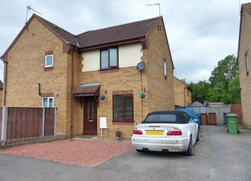 Thumbnail 2 bedroom semi-detached house for sale in Hoylake Drive, Farcet, Peterborough