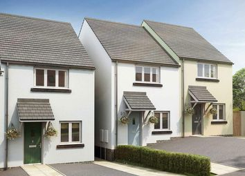 """Thumbnail 2 bed semi-detached house for sale in """"The Harcourt"""" at Exeter Road, Newton Abbot"""