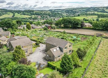 Thumbnail 4 bed detached house for sale in Town End Avenue, Wooldale, Holmfirth