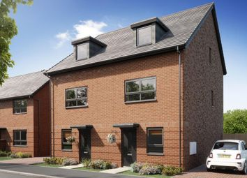 """Thumbnail 3 bed end terrace house for sale in """"Oakley"""" at Hardwick Road, Wellingborough"""