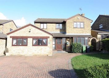 Thumbnail 5 bed detached house for sale in Lowick Close, Wellingborough