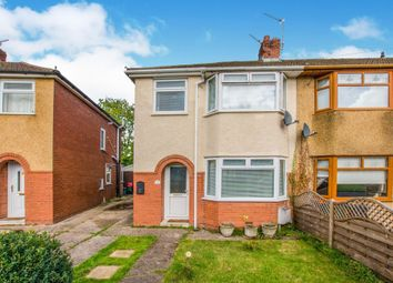 Thumbnail 3 bed semi-detached house for sale in Nash Grove, Newport