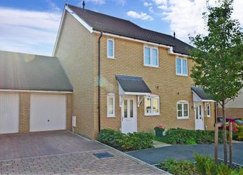Thumbnail 2 bed semi-detached house for sale in Colyn Drive, Maidstone, Kent
