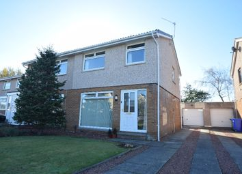 Thumbnail 3 bed semi-detached house for sale in Craigskeen Place, Prestwick, South Ayrshire
