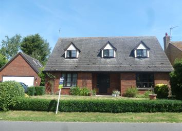 Thumbnail 4 bed detached house for sale in Church Lane, Upwood, Huntingdon