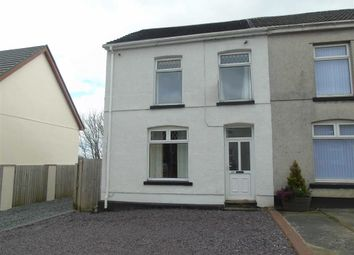 Thumbnail 2 bedroom semi-detached house for sale in Penygraig Road, Llwynhendy, Llanelli