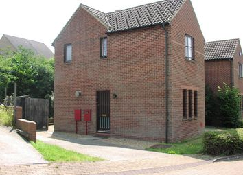 Thumbnail 2 bed end terrace house to rent in Robertson Close, Milton Keynes
