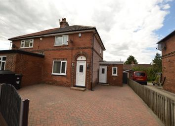 Thumbnail 2 bed semi-detached house for sale in Oak Road, Garforth, Leeds, West Yorkshire