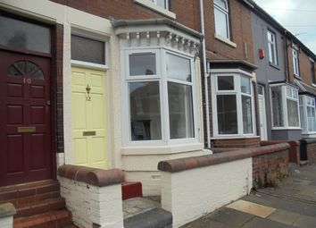 Thumbnail 2 bed terraced house to rent in Buxton Street, Sneyd Green, Stoke On Trent