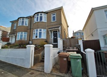 Thumbnail 3 bed semi-detached house for sale in Berrow Park Road, Peverell, Plymouth