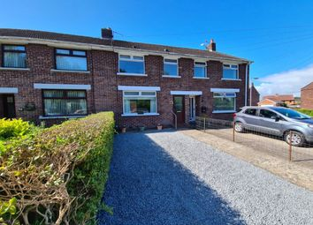 Thumbnail 3 bed terraced house for sale in Fairfield Road, Bangor